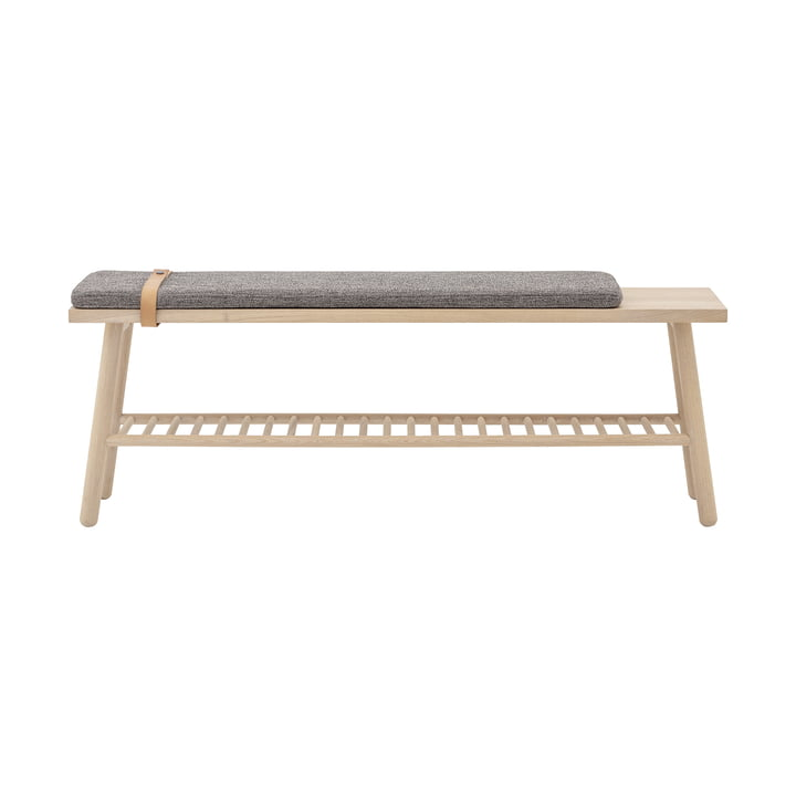 Pedro bench from Bloomingville in oak / grey