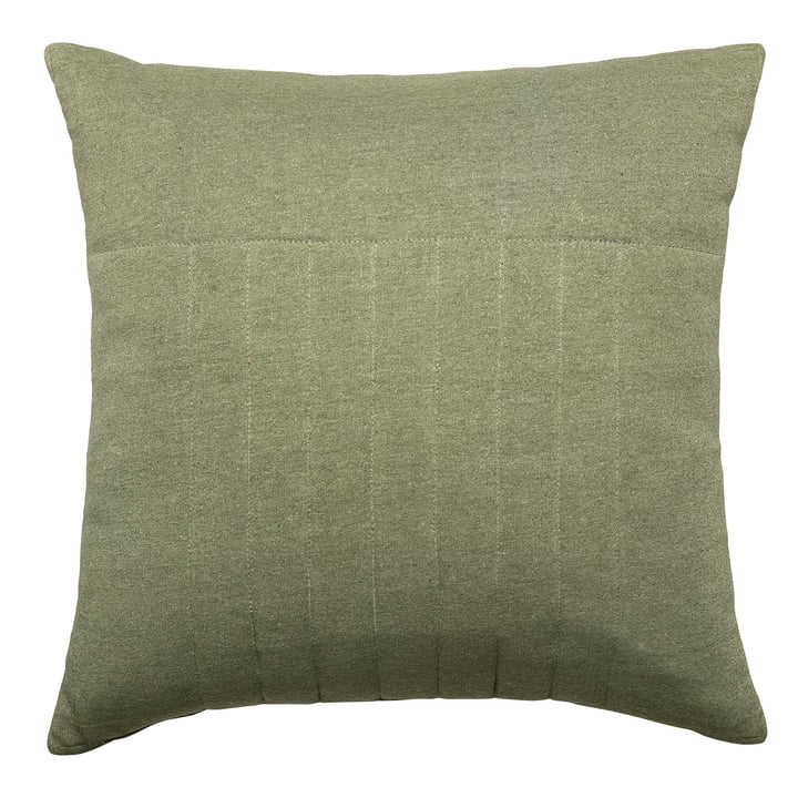 pillow quilted 45 x 45 cm from Bloomingville in green