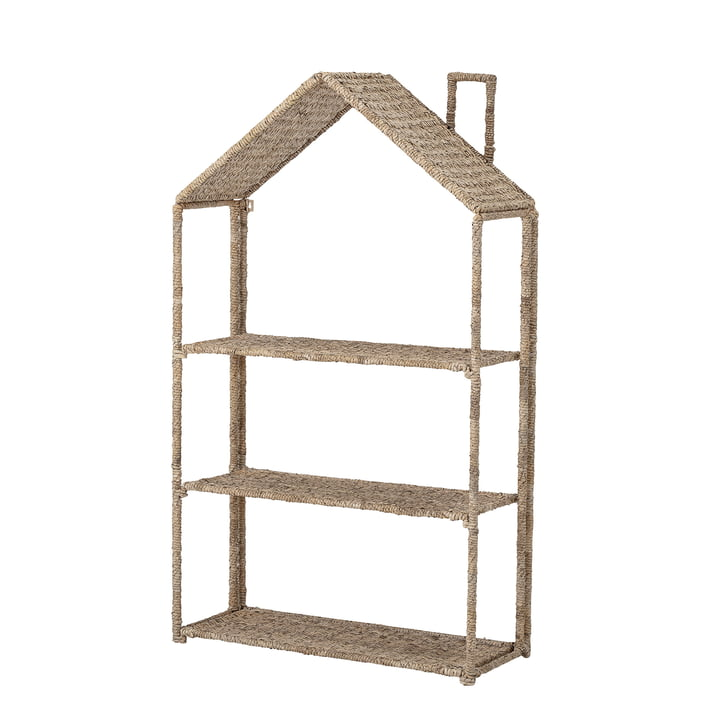 Children's shelf house from Bloomingville in nature