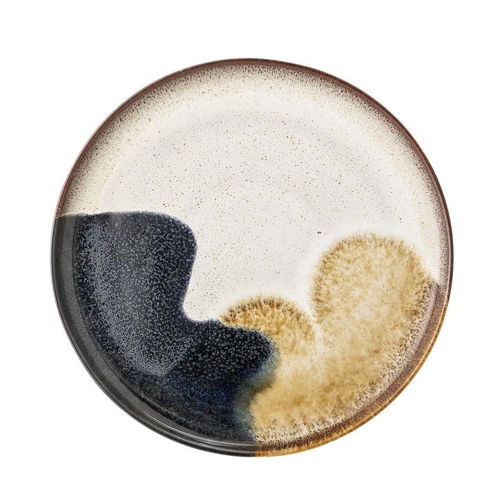 Jules plate, Ø 28 cm, multi-color from Bloomingville