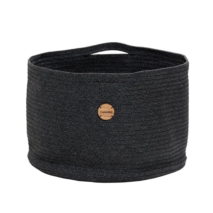 Soft storage basket Ø 50 cm, dark grey from Cane-line