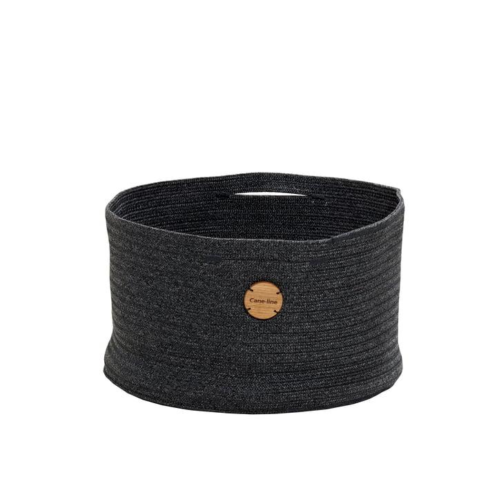 Soft storage basket Ø 40 cm, dark grey from Cane-line