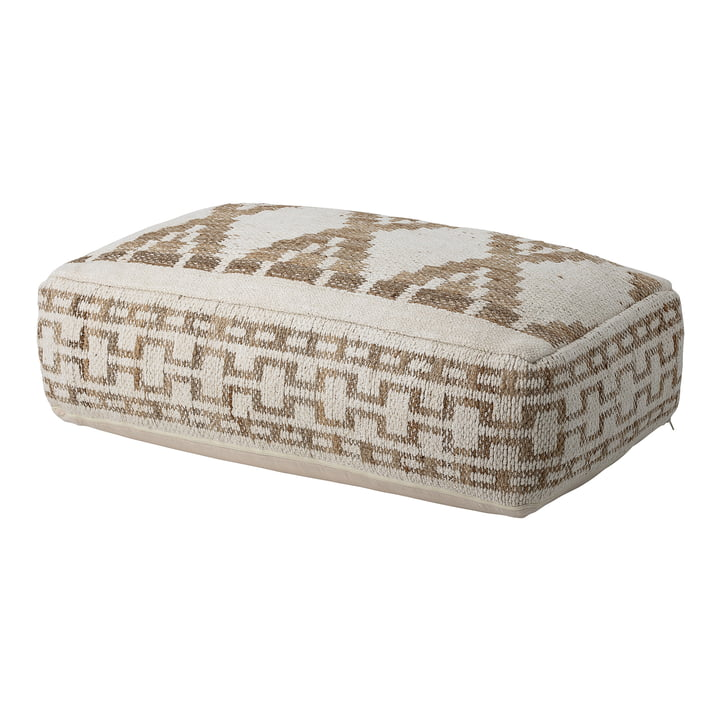 Pouf 105 x 60 cm from Bloomingville in multi-color / beige