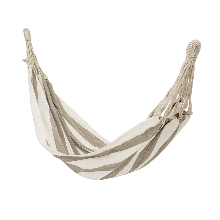 Hammock with stripes of Bloomingville in beige / white