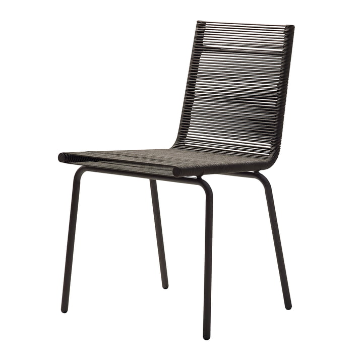 Sidd chair, brown by Cane-line