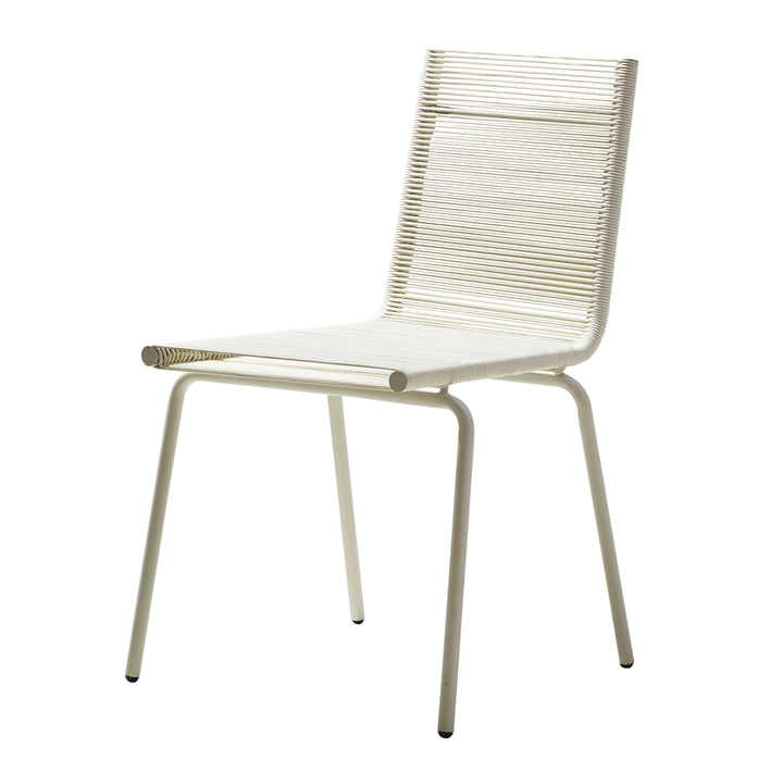 Sidd Chair, white from Cane-line