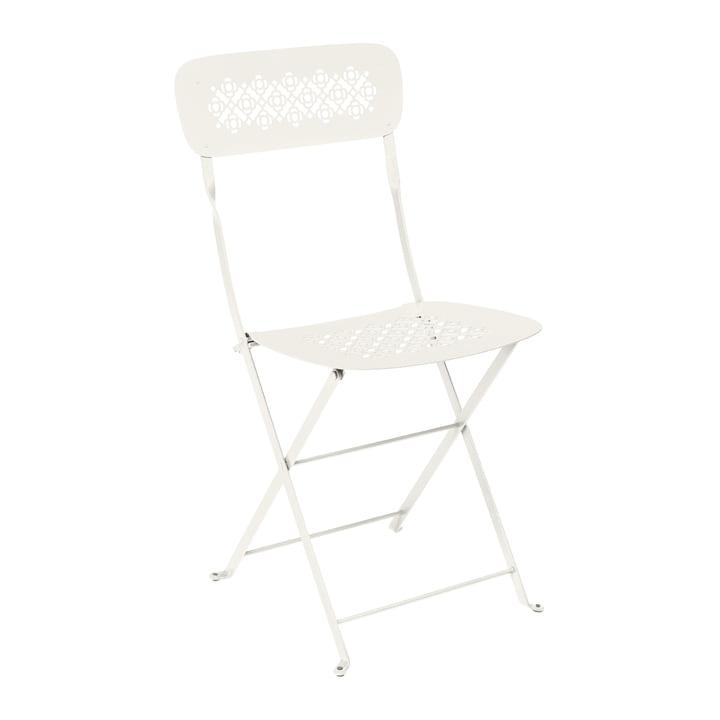 Lorette Folding chair, clay grey from Fermob