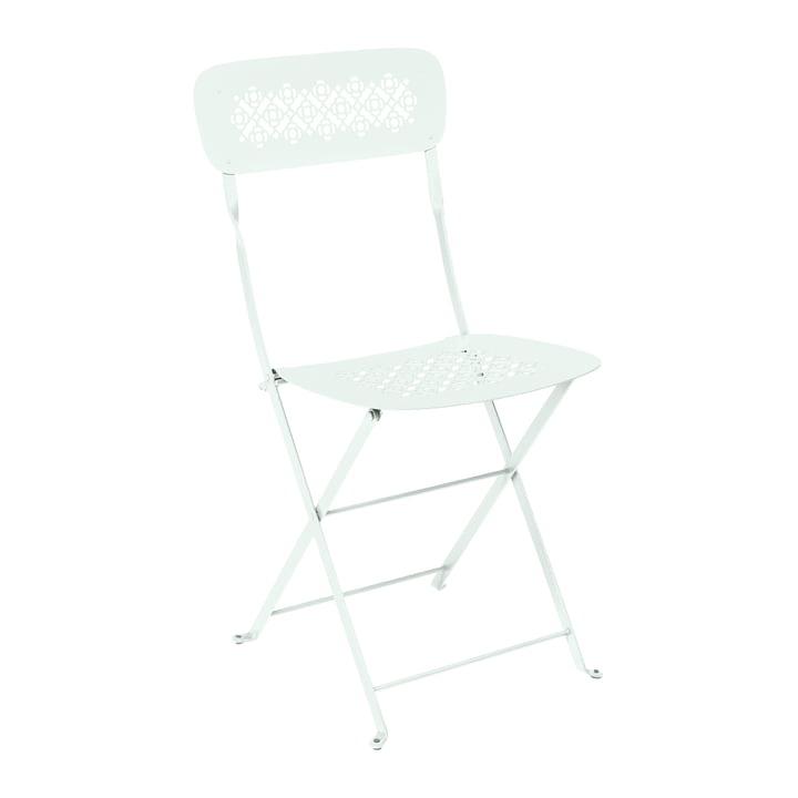 Lorette Folding chair, glacier mint from Fermob