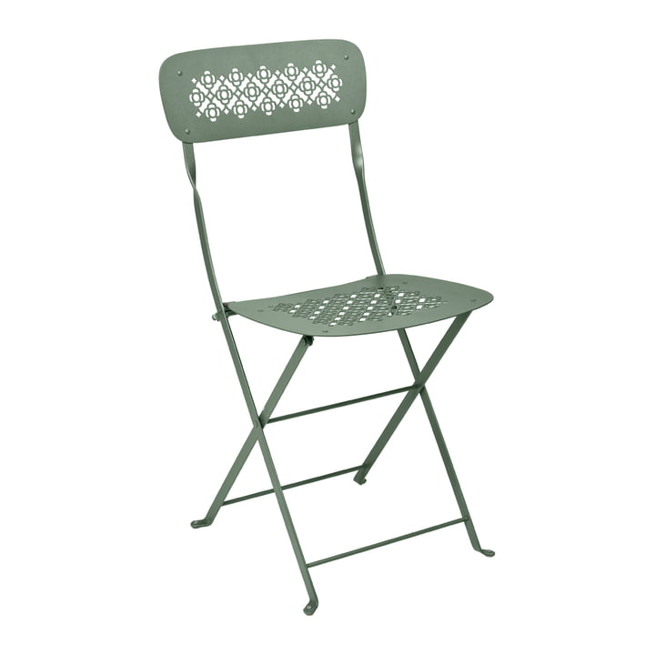 Lorette Folding chair, cactus by Fermob