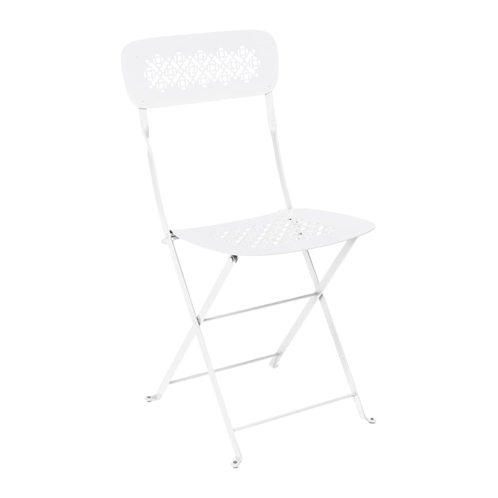 Lorette Folding chair, cotton white from Fermob