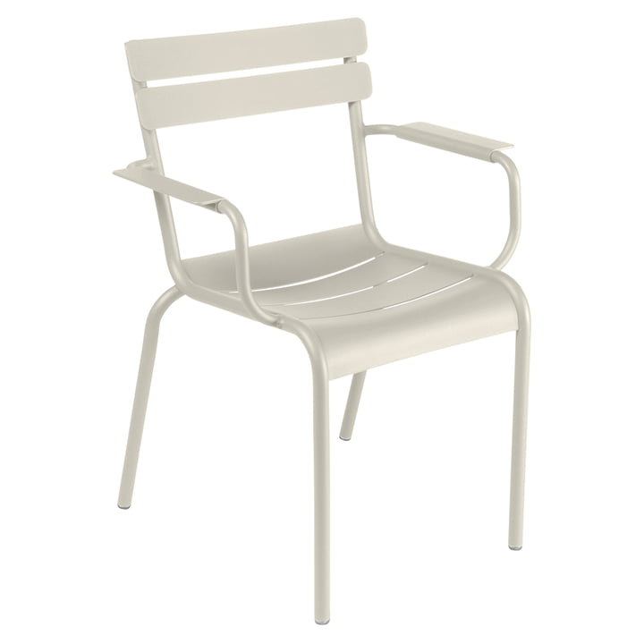Luxembourg Armchair, clay grey from Fermob