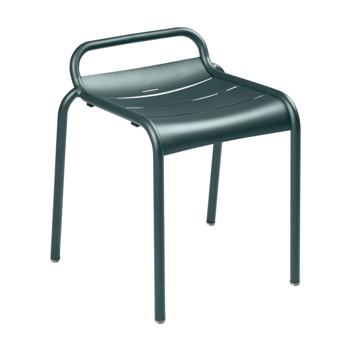 Luxembourg stool, storm gray by Fermob