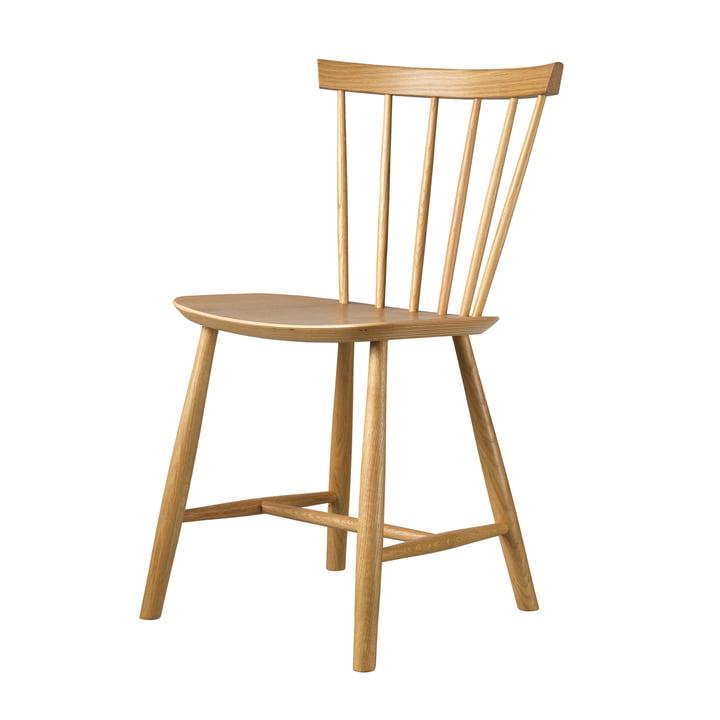 J46 Chair by FDB Møbler , natural oak