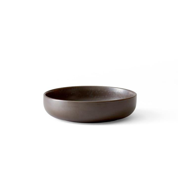 Menu - New Norm bowl Ø 13,5 cm, low, dark glazed