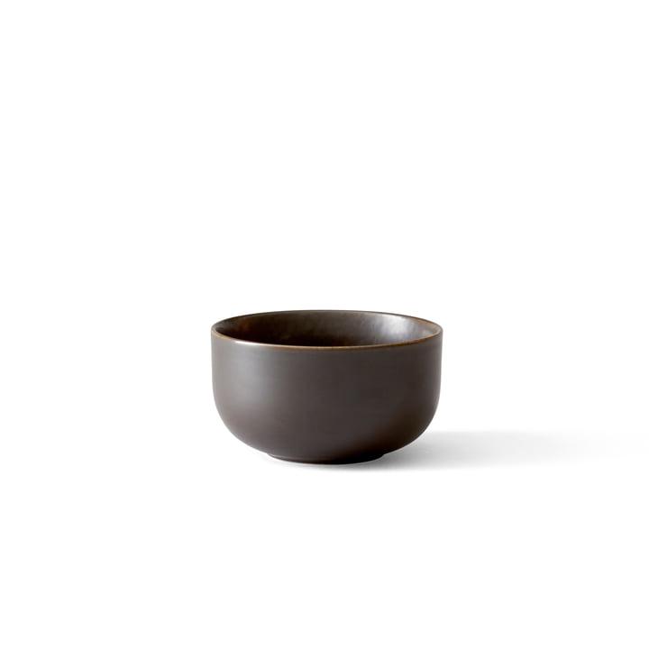 New Norm bowl Ø 10 cm, dark glazed by Menu