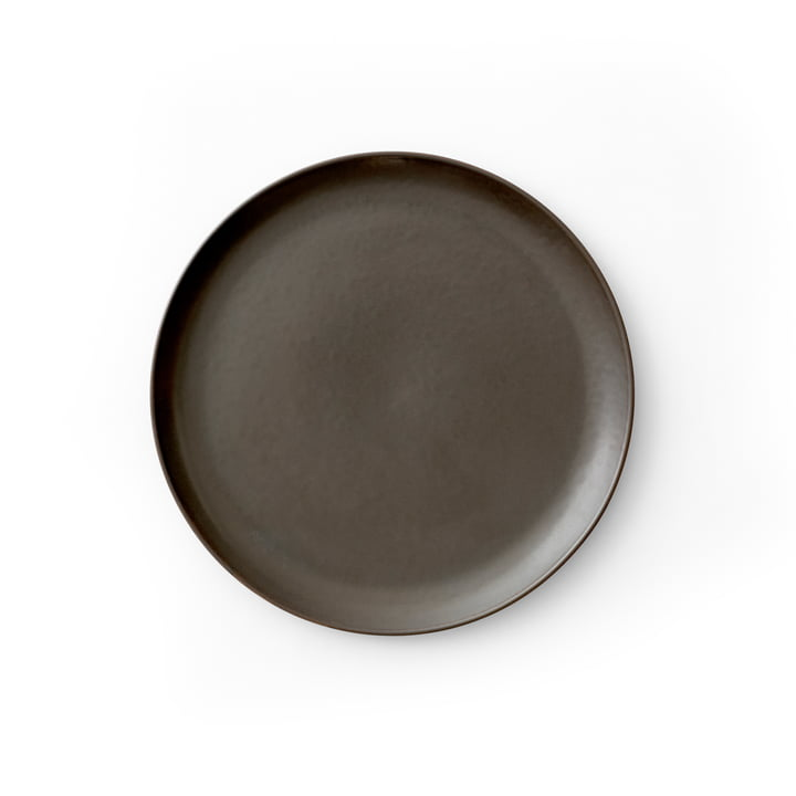 New Norm Side plate Ø 19 cm, dark glazed by Menu