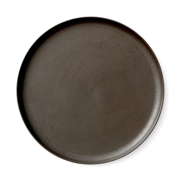 Menu - New Norm plate Ø 27 cm, dark glazed