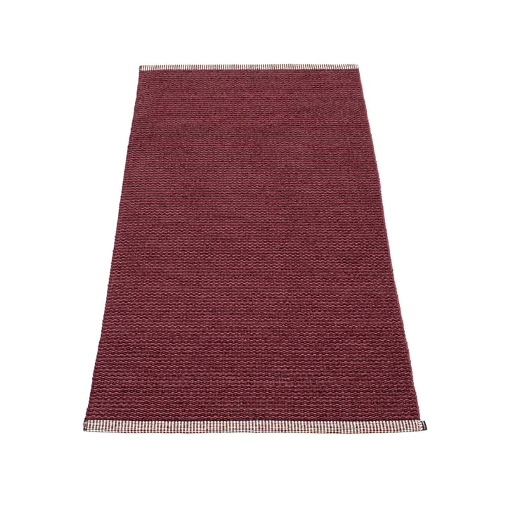 Mono carpet 85 x 160 cm from Pappelina in zinfandel / rose taupe