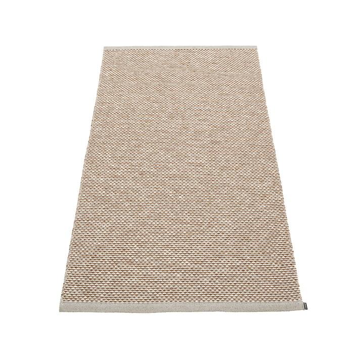 Effi carpet 85 x 160 cm from Pappelina in warm grey / brown / vanilla