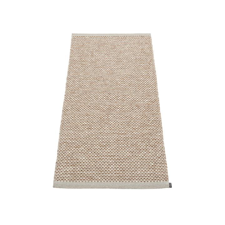 Effi carpet 60 x 125 cm from Pappelina in warm grey / brown / vanilla