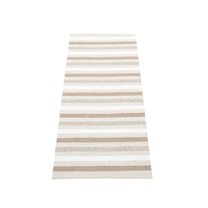Grace carpet 70 x 140 cm from Pappelina in fossil grey