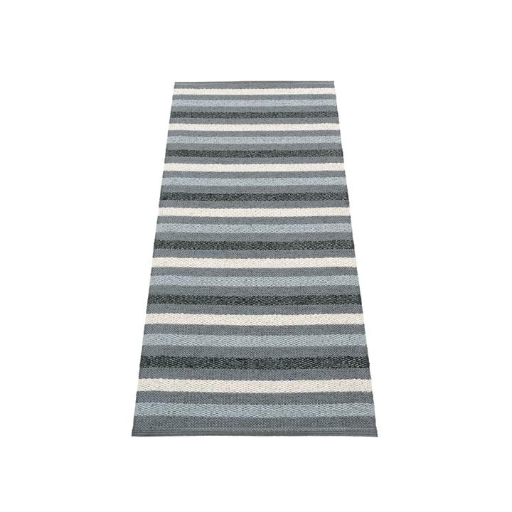 Grace carpet 70 x 140 cm from Pappelina in granite