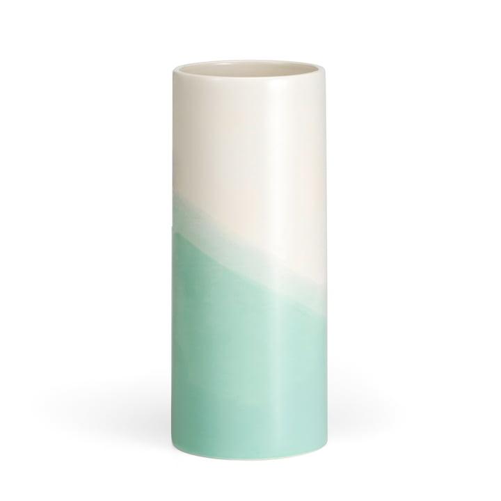 Vitra - Herringbone Vase smooth H 31,5 cm, mint