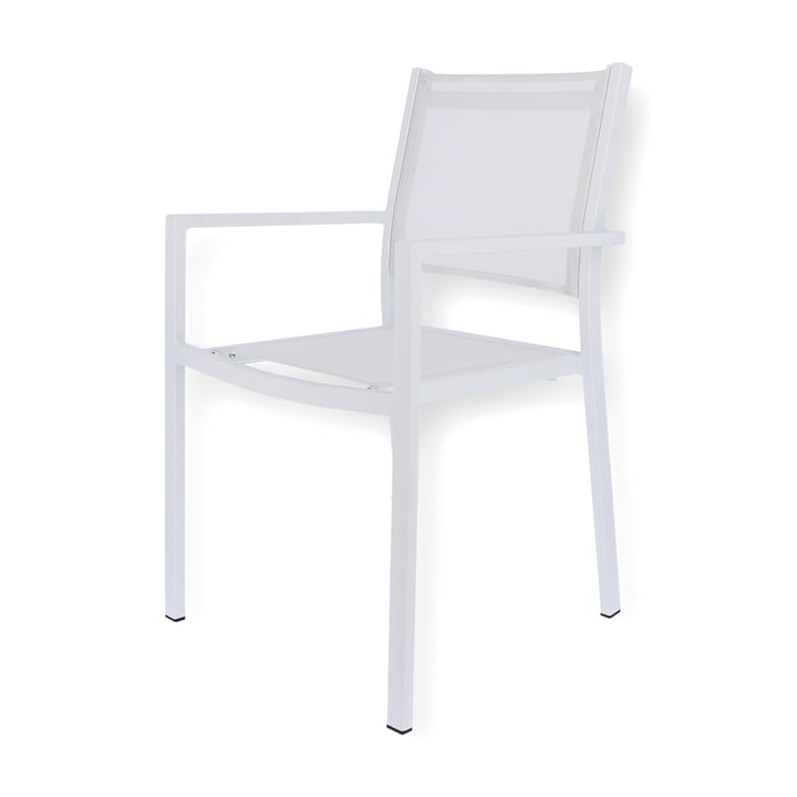 Aria Stacking chair from Fiam in white