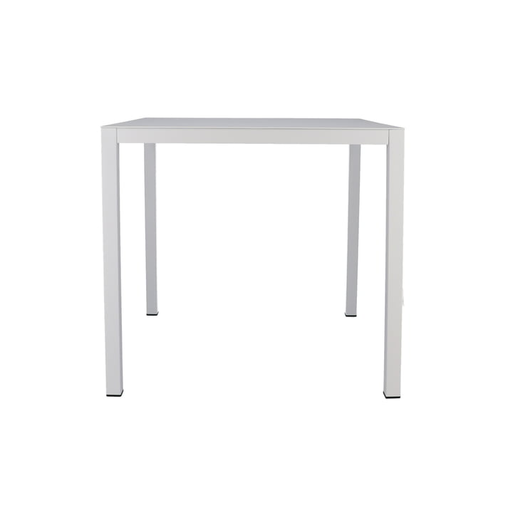 Aria table 80 x 80 cm from Fiam in white
