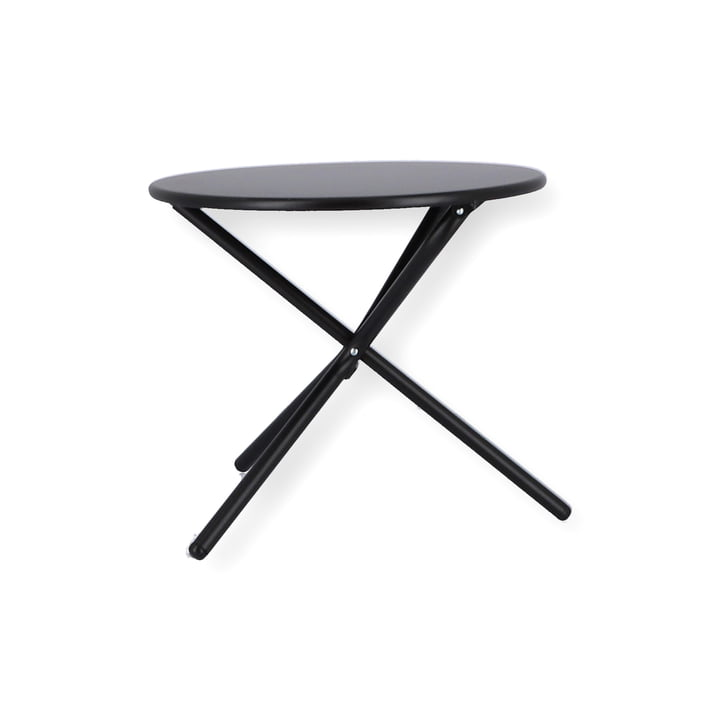 Tris Side table Ø 53 cm from Fiam in black