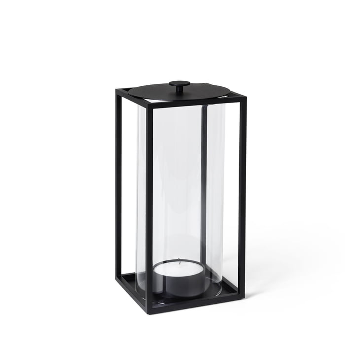 Light'In lantern H 20 cm from by Lassen in black