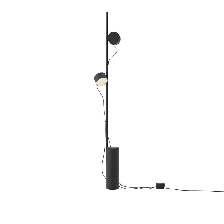 Post LED floor lamp from Muuto in black