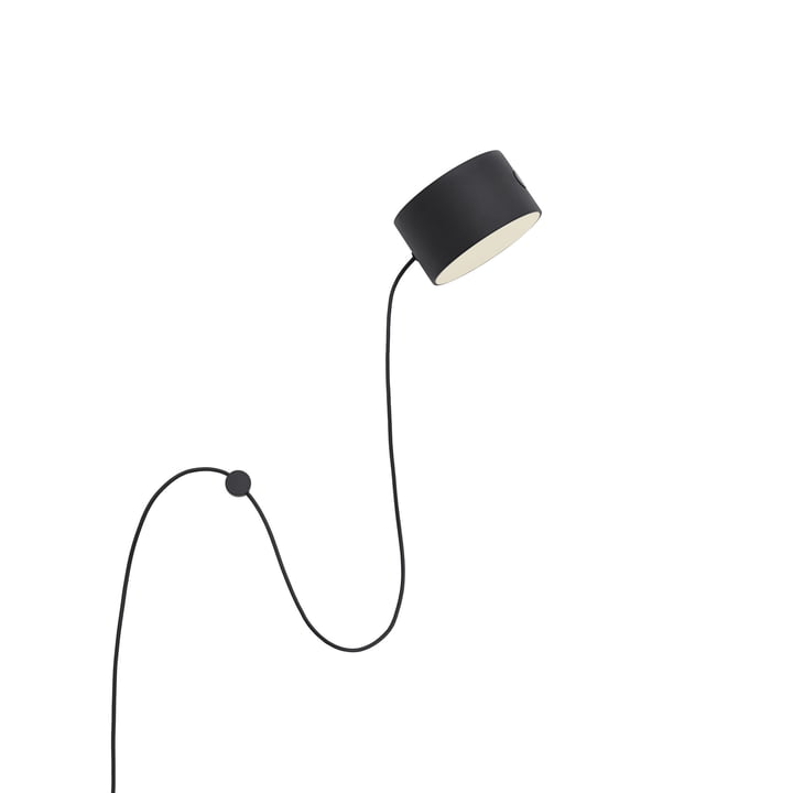 Post LED wall lamp from Muuto in black