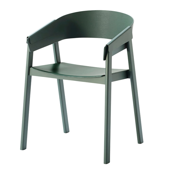 Cover chair from Muuto in green