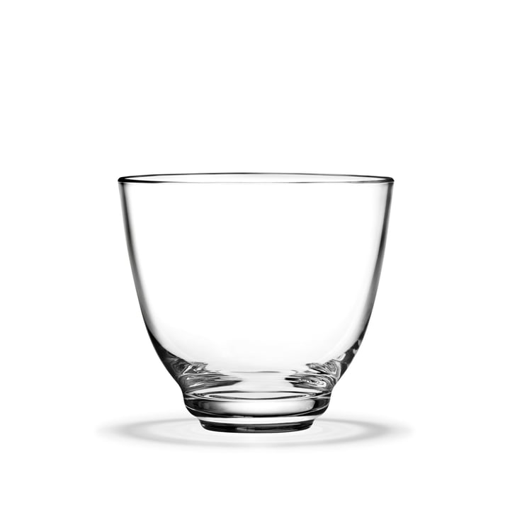Flow Water glass 35 cl from Holmegaard in clear