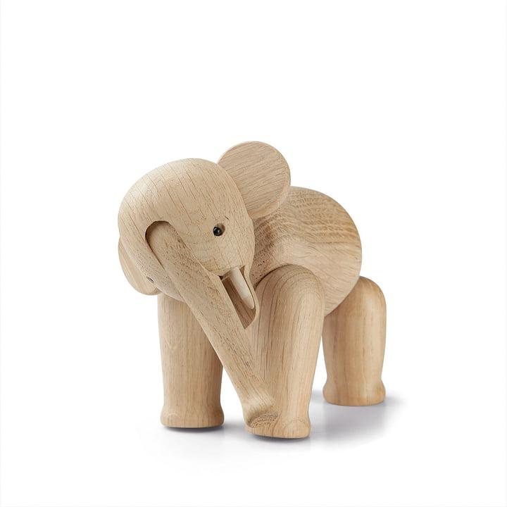 Wood Elephant Mini from Kay Bojesen in oak