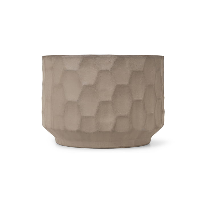Large cachepot Ø 21,5 cm from Kähler Design in sand