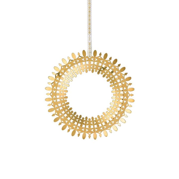Wiinblad Christmas wreath, Ø 16 cm, gold by Bjørn Wiinblad