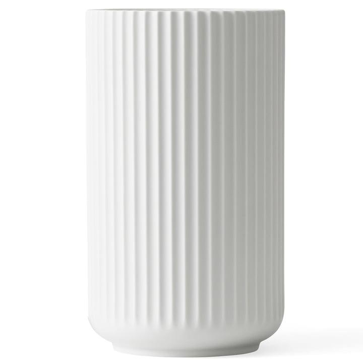 Lyngbyvase H 38 cm from Lyngby Porcelæn white