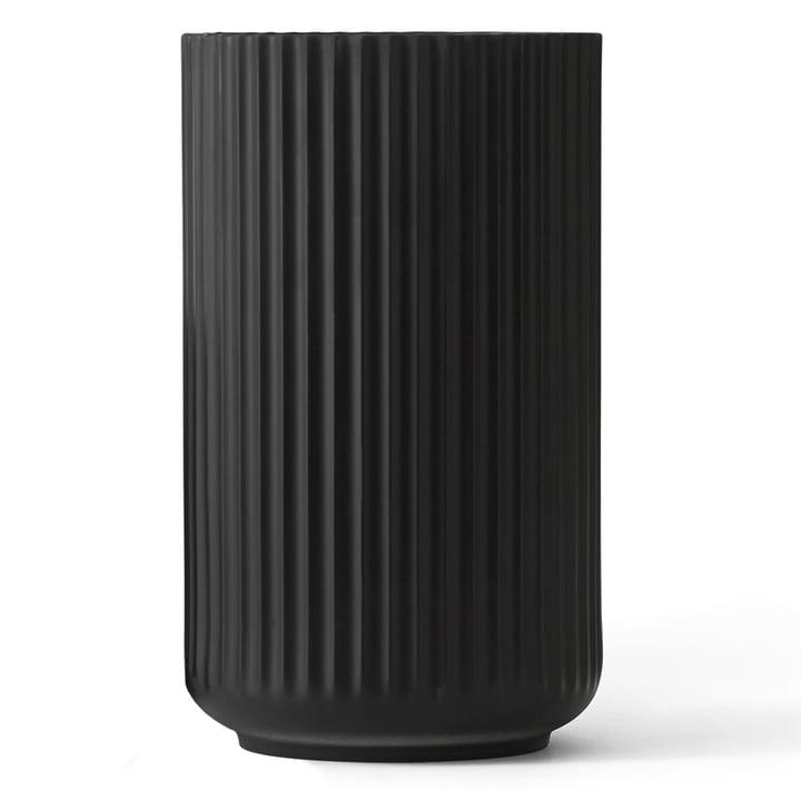 Lyngbyvase black from Lyngby Porcelæn H 38 cm