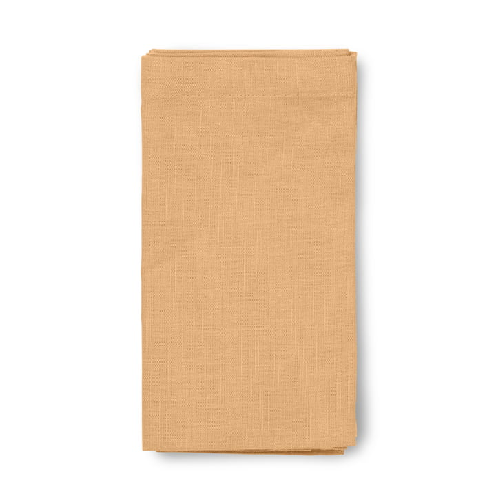 Basic Cotton tablecloth from Juna in ochre