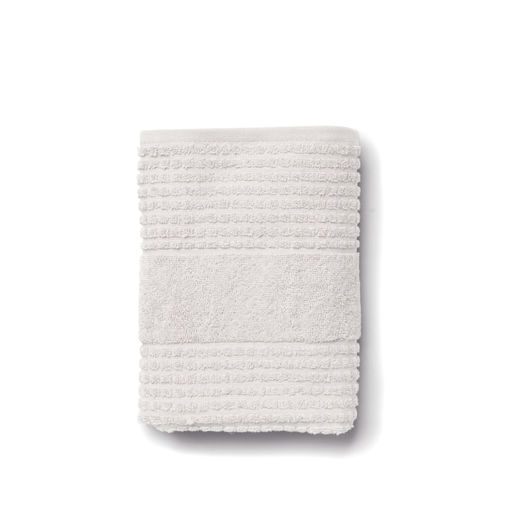 Check towel from Juna in light grey