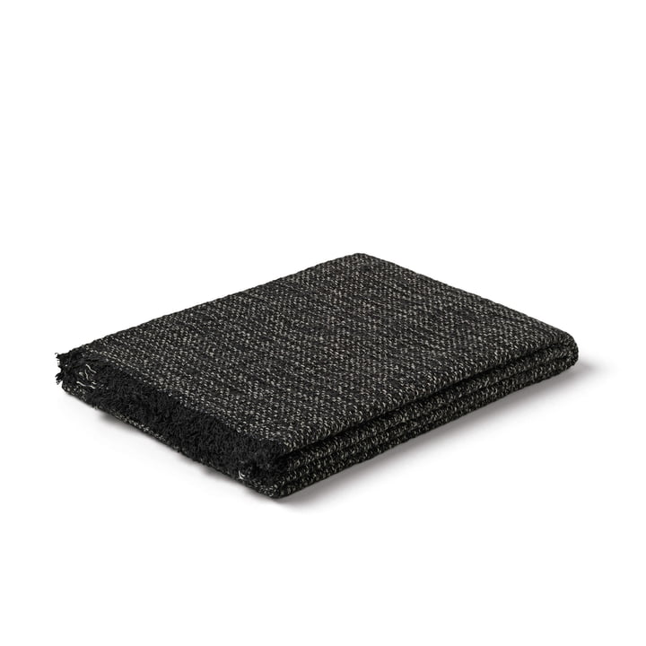 Reflection towel from Juna in black