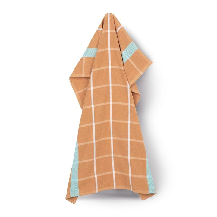 Terry tea towel 50 x 70 cm from Juna in ochre