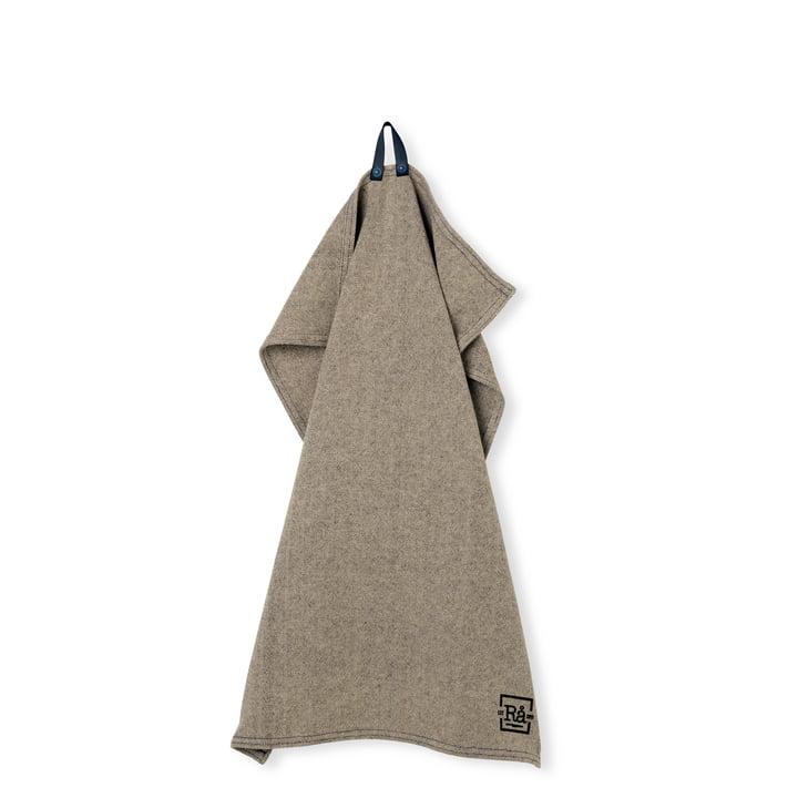 Rå Tea towel 50 x 70 cm from Juna in dark grey