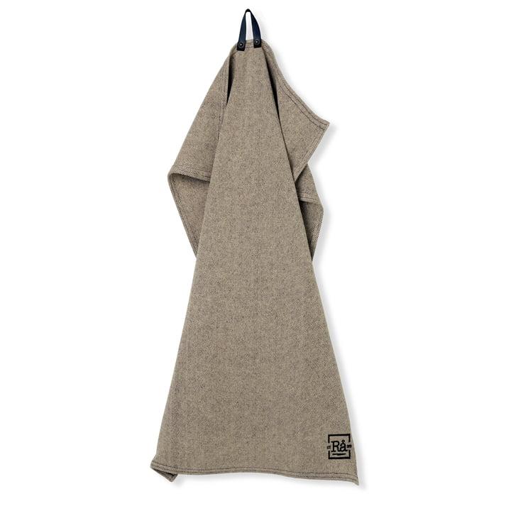 Rå Tea towel 50 x 90 cm from Juna in dark grey