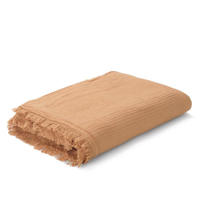 View Blanket from Juna in ochre