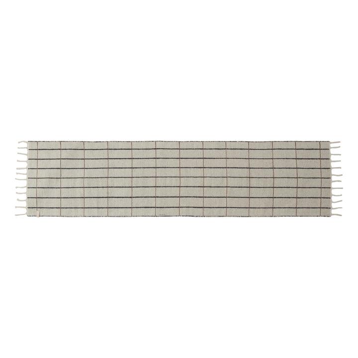 Grid runner 60 x 250 cm from OYOY in beige