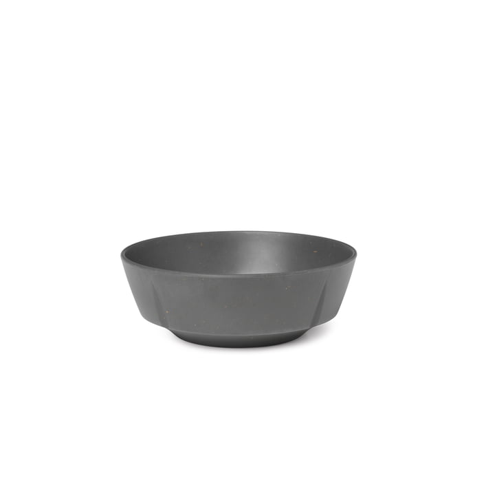 Grand Cru Take Bowl Ø 15,5 cm from Rosendahl in dark grey (set of 2)