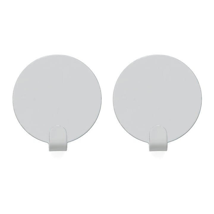 Hook Ping Wall hook, white (set of 2) from OYOY